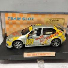 Slot Cars: TEAM SLOT SEAT LEÓN SILHOUETTE REF. 74101 RESINA. Lote 228144065