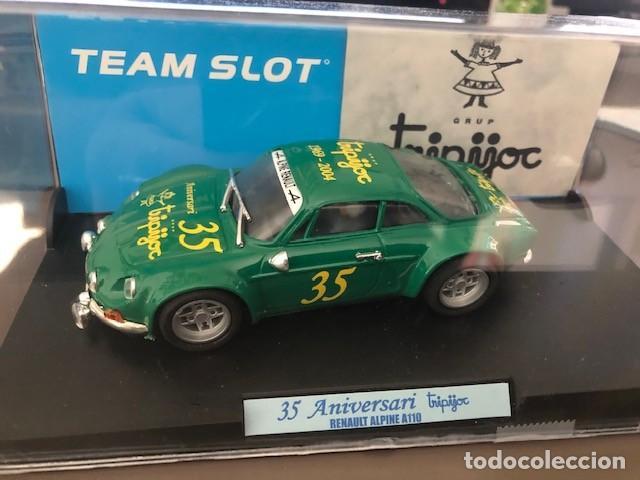 """RENAULT ALPINE A110 """"TRIPIJOC"""" 35 ANIVERSARIO DE SLOT EDICION LIMITADA A 500 UNIDADES. (Juguetes - Slot Cars - Team Slot)"""