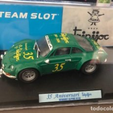 "Slot Cars: RENAULT ALPINE A110 ""TRIPIJOC"" 35 ANIVERSARIO DE SLOT EDICION LIMITADA A 500 UNIDADES.. Lote 230504195"
