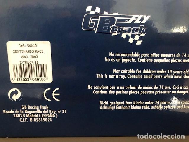 Slot Cars: vendo camión FLY (Ref: 96019). Centenario Race 1993-2003. nuevo y en caja. Descatalogado - Foto 3 - 230510905