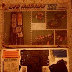Slot Cars: CIRCUITO BIG RACING COMPLETO COCHES 1/32 LANCIA STRATOS A 220V. Lote 231099195
