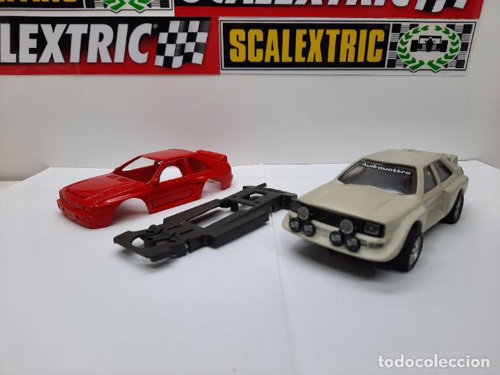 Slot Cars: 2 AUDI QUATTRO #RESINA# CHASIS EXIN TEAM SLOT SCALEXTRIC - Foto 8 - 224907048