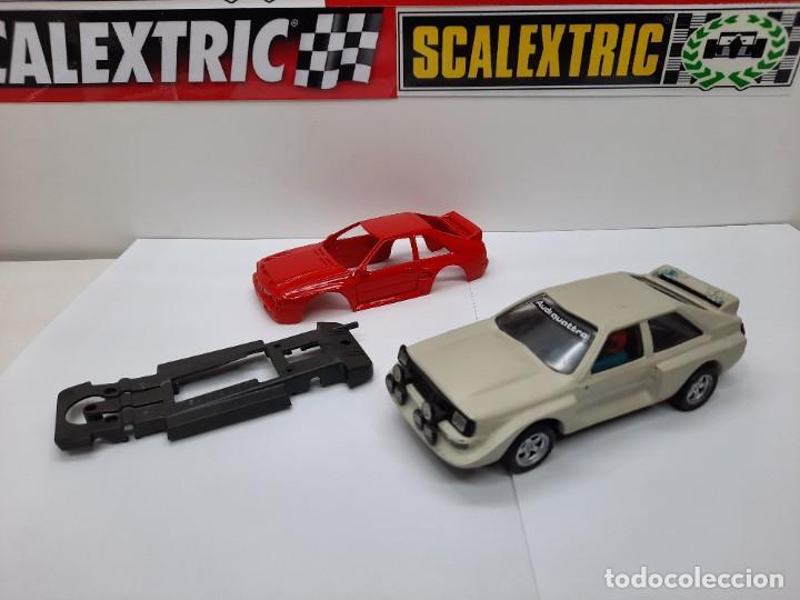 Slot Cars: 2 AUDI QUATTRO #RESINA# CHASIS EXIN TEAM SLOT SCALEXTRIC - Foto 9 - 224907048
