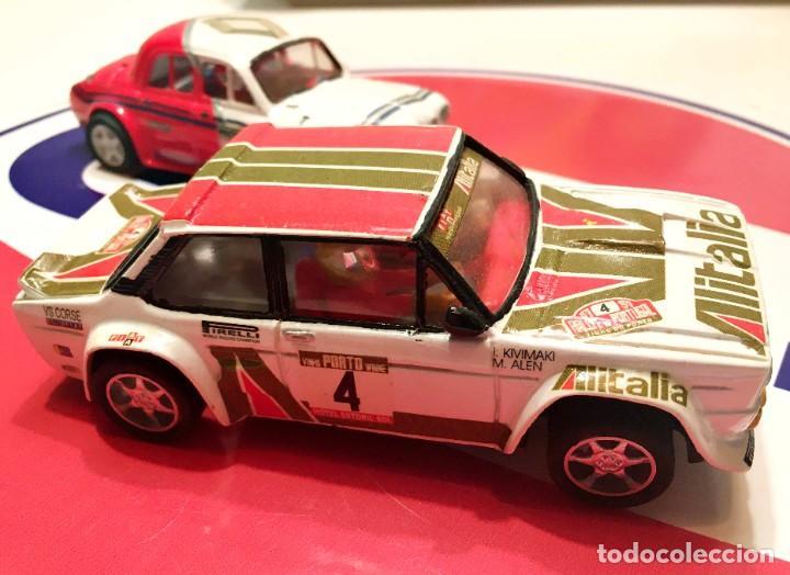 Slot Cars: FIAT 131 ABARTH AL´ITALIA TEAM SLOT NUEVO - Foto 2 - 236856365