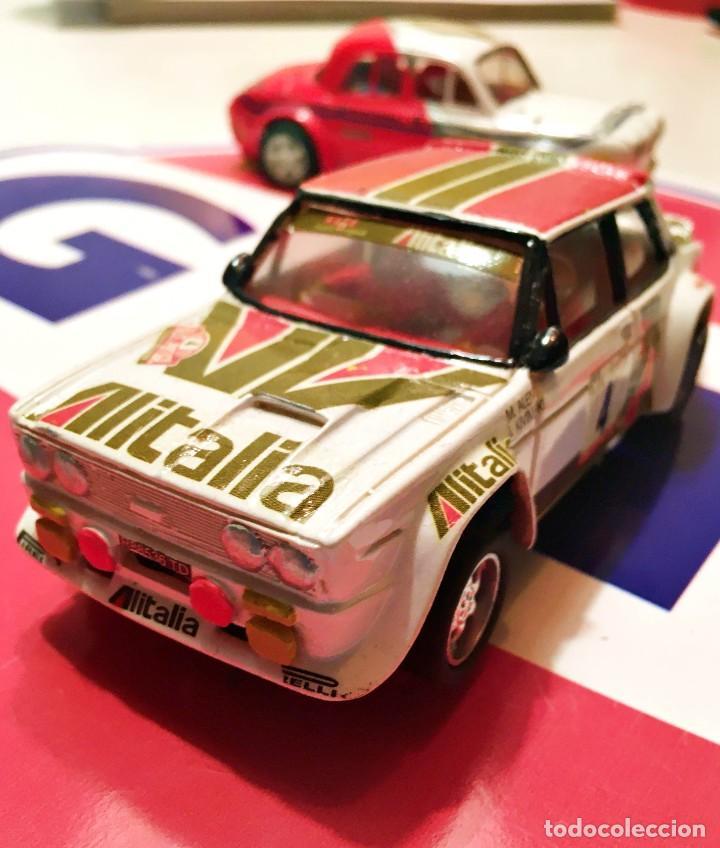 Slot Cars: FIAT 131 ABARTH AL´ITALIA TEAM SLOT NUEVO - Foto 3 - 236856365