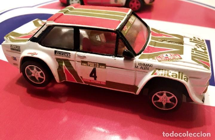 Slot Cars: FIAT 131 ABARTH AL´ITALIA TEAM SLOT NUEVO - Foto 4 - 236856365