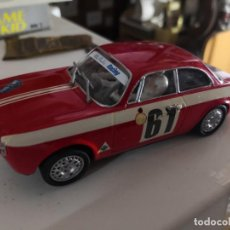 Slot Cars: ALFA ROMEO GIULIA GTA ROJO ALPES. Lote 237290235