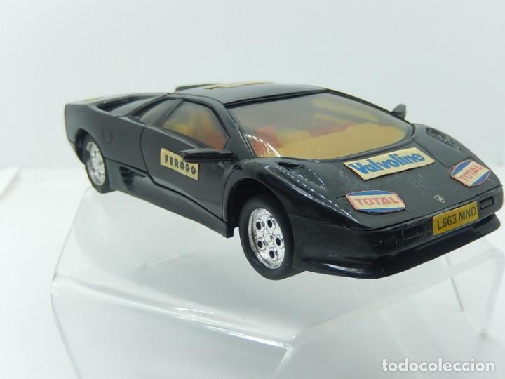 Slot Cars: Lamborghini. Hornby Hobbies. Fabricado en Inglaterra. - Foto 7 - 241966975