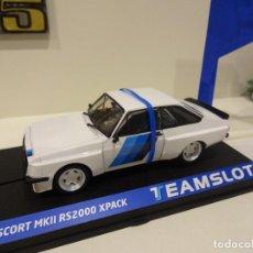 Slot Cars: TEAM SLOT. NOVEDAD !!. FORD ESCORT MKII RS200 XPACK. TEST RACE CAR. REF. 13003. Lote 242193875
