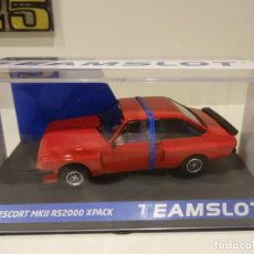 Slot Cars: TEAM SLOT. NOVEDAD !!. FORD ESCORT MKII RS200 XPACK. RED. REF. 13001. Lote 242194075