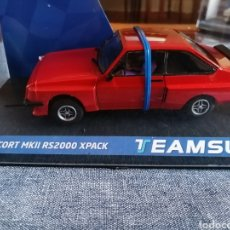 Slot Cars: 13001 - NOVEDAD FORD ESCORT MKII RS200 RED DE TEAM SLOT. Lote 242827095