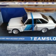 Slot Cars: 13003 - NOVEDAD FORD ESCORT MKII RS200 TEST CAR DE TEAM SLOT. Lote 242827445