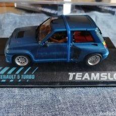 Slot Cars: 11804 - RENAULT 5 TURBO AZUL DE TEAM SLOT. Lote 239899050