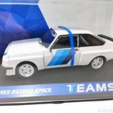 Slot Cars: TEAM SLOT FORD ESCORT MKII RS2000 X PACK TEST RACE CAR REF. 13003. Lote 242900160