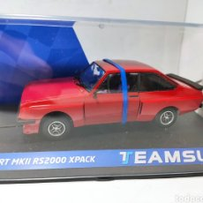 Slot Cars: TEAM SLOT FORD ESCORT MKII RS2000 X PACK RED REF. 13001. Lote 242900795