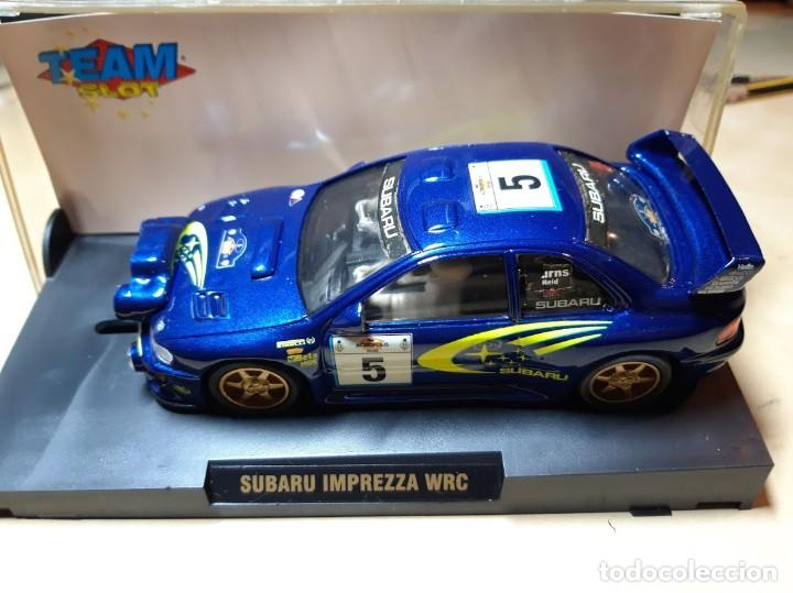 SUBARU IMPREZZA WRC EN CAJA ORIGINAL (Juguetes - Slot Cars - Team Slot)