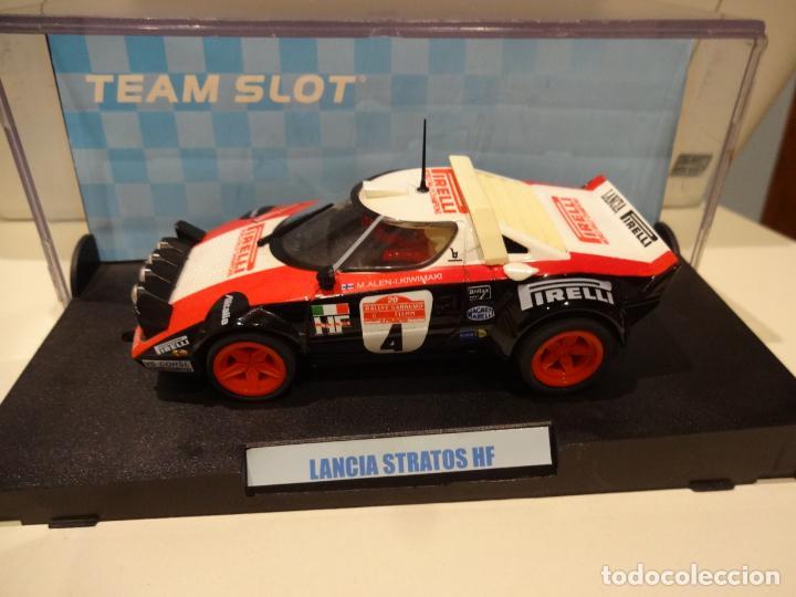 Slot Cars: Team Slot. Lancia Stratos Pirelli. Ref. 11502 - Foto 4 - 255323000