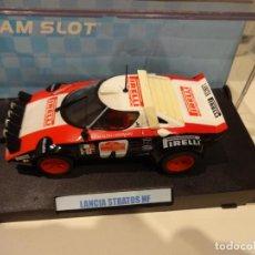 Slot Cars: TEAM SLOT. LANCIA STRATOS PIRELLI. REF. 11502. Lote 255323000