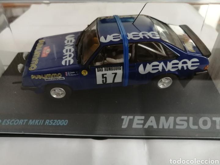 12702 - FORD ESCORT MKII RS200 RALLY MONTECARLO 81 VENERE Nº57 DE TEAM SLOT (Juguetes - Slot Cars - Team Slot)