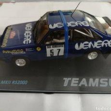Slot Cars: 12702 - FORD ESCORT MKII RS200 RALLY MONTECARLO 81 VENERE Nº57 DE TEAM SLOT. Lote 268599379