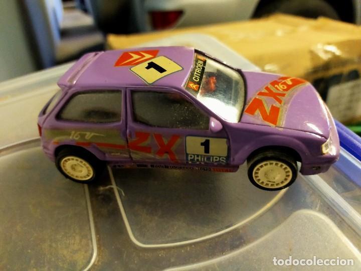 Slot Cars: Antiguo coche de Scalextric SCX Team Slot - CitroËn ZX Rally Kit Car - Resina - Foto 3 - 270682148
