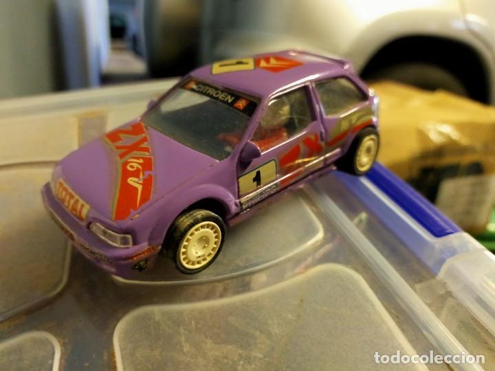 ANTIGUO COCHE DE SCALEXTRIC SCX TEAM SLOT - CITROËN ZX RALLY KIT CAR - RESINA (Juguetes - Slot Cars - Team Slot)