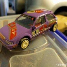 Slot Cars: ANTIGUO COCHE DE SCALEXTRIC SCX TEAM SLOT - CITROËN ZX RALLY KIT CAR - RESINA. Lote 270682148