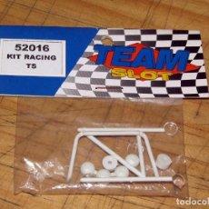 Slot Cars: TEAM SLOT - KIT RACING TS - 52016 - BARRAS ANTIVUELCO Y FARERA - NUEVO A ESTRENAR. Lote 274311308