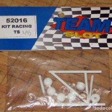 Slot Cars: TEAM SLOT - KIT RACING TS - 52016 - BARRAS ANTIVUELCO Y FARERA - NUEVO A ESTRENAR. Lote 274311358