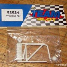 Slot Cars: TEAM SLOT - KIT RACING TS-2 - 52024 - BARRAS ANTIVUELCO Y FARERA - NUEVO A ESTRENAR. Lote 274311393