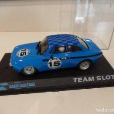Slot Cars: TEAM SLOT. ALFA GTAM AZUL. Lote 274615458