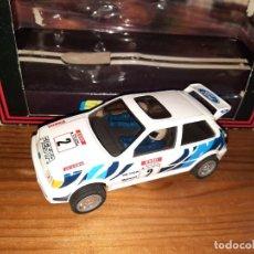 Slot Cars: FORD FIESTA XR2 I,HORNBY HOBBIES LTD,SUPERSLOT EN CAJA. Lote 276408868