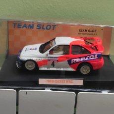 Slot Cars: FORD SCORT WRC CARLOS SAINZ SLOT TEAM. Lote 277647283