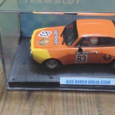 Slot Cars: ALFA ROMEO GIULAIA TEAM SLOT. Lote 277655553