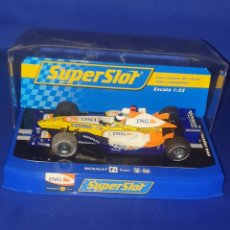 Slot Cars: SCALEXTRIC SUPERSLOT RENAULT F1 TEAM. Lote 287180328