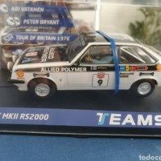 Slot Cars: 12703. FORD ESCORT MKII RS200 GANADOR TOUR DE BRITAIN 1976 DE TEAM SLOT. Lote 287228088