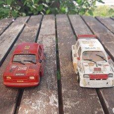 Slot Cars: SEAT 124 FL 2000 Y MG METRO TURBO DE TEAM SLOT. Lote 292575818