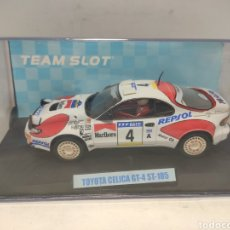 Slot Cars: TEAM SLOT TOYOTA CELICA GT FOUR ST 185 REPSOL REF. 11702. Lote 294041253