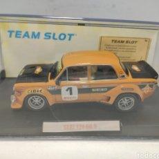 Slot Cars: TEAM SLOT SEAT 124 GR.5 ZANINI EDICIÓN LIMITADA REF. 72001. Lote 294936113