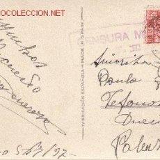 Sellos: POSTAL CENSURA MILITAR DE TOLEDO. Lote 14675186