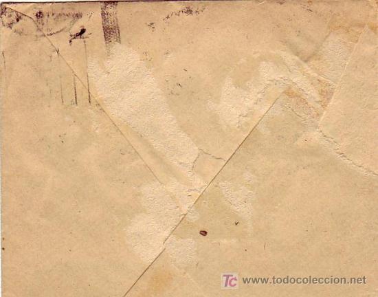 Sellos: CARTA COMERCIAL (CASA SAN PEDRO) CIRCULADA 1938 DESDE VALLADOLID. CENSURA MILITAR. MPM. - Foto 2 - 15720101