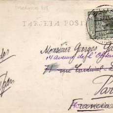Sellos: MARRUECOS ESPAÑOL: TARJETA POSTAL CIRCULADA ¿1934? DE TETUAN A PARIS.. Lote 25008061