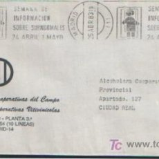 Sellos: MATASELLO DE RODILLO SEMANA DE INFORMACION SOBRE SUBNORMALES 24 ABRIL-1 DE MAYO 1983. Lote 4914137