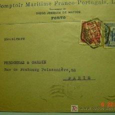 Sellos: 564 PORTUGAL CARTA CIRCULADA - MAS DE ESTE TEMA EN MI TIENDA COSAS&CURIOSAS. Lote 5382032