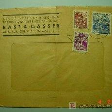 Sellos: 1003 AUSTRIA CARTA CIRCULADA A PARIS AÑO 1936 COSAS&CURIOSAS. Lote 5595242