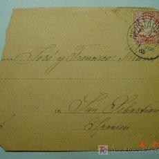 Sellos: 1107 ALEMANIA A SAN SEBASTIAN GUIPUZCOA CARTA POSTAL AÑO 1906 - COSAS&CURIOSAS. Lote 5602766