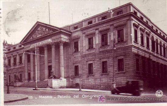 Sellos: MATASELLOS RODILLO PUBLICITARIO Y CORREO CENTRAL EN TARJETA CIRCULADA 1930 DE MADRID A GRANADA. MPM. - Foto 2 - 5720192