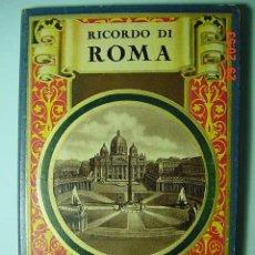 Sellos: 4157 - ITALIA ITALY ROMA VATICANO - PEQUEÑO ALBUM CON DECENAS DE FOTOGRAFIAS AÑOS 1920 - C&C. Lote 6689902