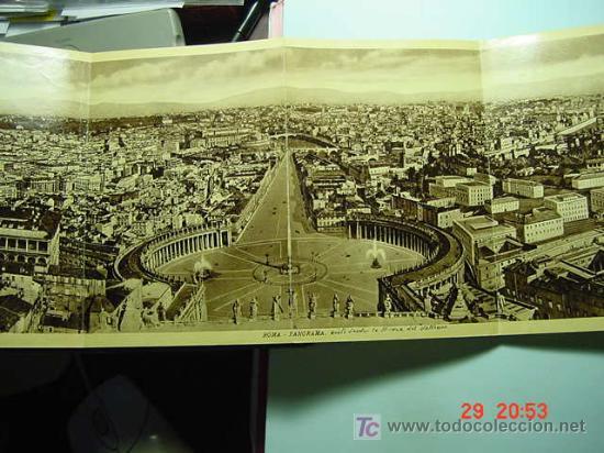 Sellos: 4157 - ITALIA ITALY ROMA VATICANO - PEQUEÑO ALBUM CON DECENAS DE FOTOGRAFIAS AÑOS 1920 - C&C - Foto 2 - 6689902