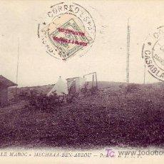 Sellos: MARRUECOS ESPAÑOL: TARJETA 1913 CORREO ESPAÑOL EN MARRUECOS CASABLANCA. BONITO FRANQUEO.. Lote 24302007